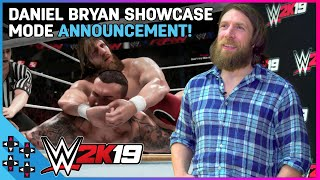 DANIEL BRYAN takes UUDD behind the scenes of his 2K19 SHOWCASE MODE! thumbnail