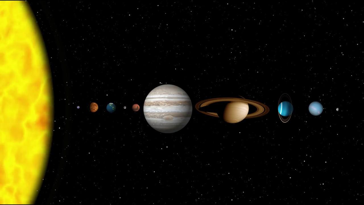 The Planets, Mercury, Venus, Earth, Mars, Jupiter, Saturn ...