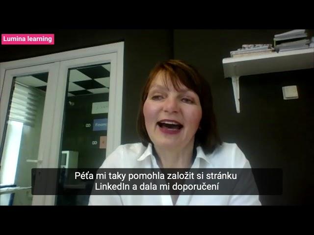 KOUČINK LUMINA LEARNING: Jak jej hodnotí Jaroslava Douchová?   Reference