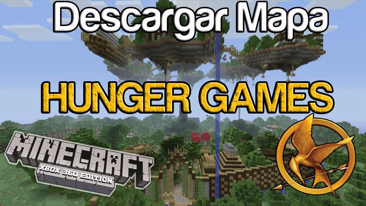 Xbox 360 Hunger Games : Minecraft xbox descargar mapa nuevo hunger games