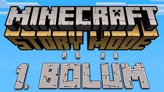Minecraft Story Mode Türkçe Gameplay # 1