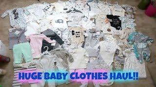 HUGE GENDER NEURTAL BABY CLOTHES HAUL | FUTURE  PARENTS!!!