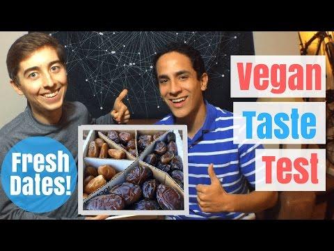 Vegan Taste Test   Fresh California Dates   6 Varieties!