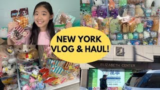 SQUISHY HAUL & VLOG IN NEW YORK!! | CuteFads