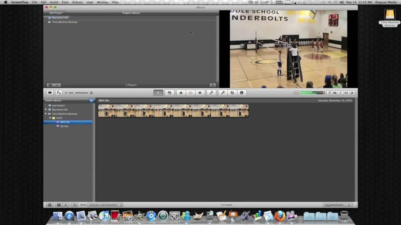 iMovie 09 No More Lag When Editing