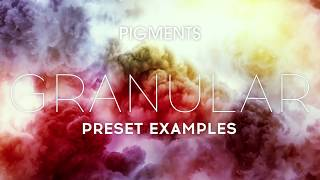 Arturia Pigments - Granular Presets