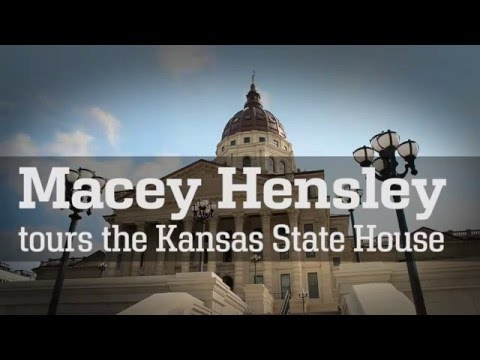 Macey Tours the Kansas Capitol