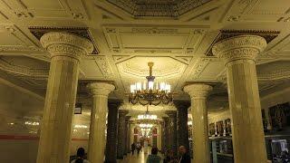 Beautiful Metro station (Subway) of Saint Petersburg, Russia