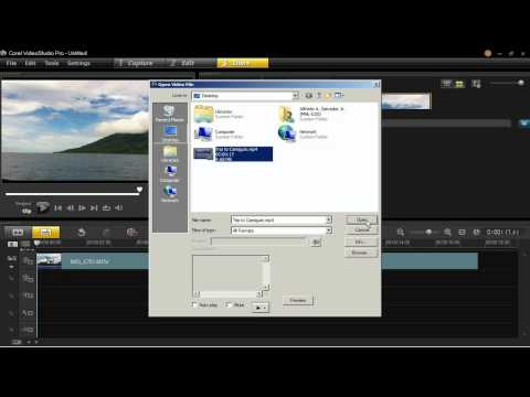 Export and Share Videos online in VideoStudio Pro X6