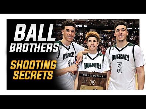 Ball Brothers Shooting Secrets: Lonzo | LiAngelo | LaMelo