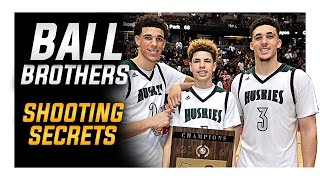 Ball Brothers Shooting Secrets: Lonzo | LiAngelo | LaMelo