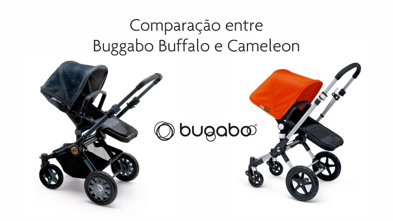 Comparação Bugaboo Buffalo e Cameleon - YouTube
