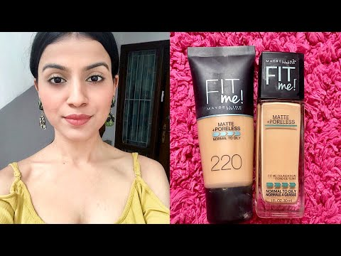 Maybelline Fit Me vs. Fit me! Natural Buff vs. Natural Beige for Indian/Medium/Olive Skin Tone