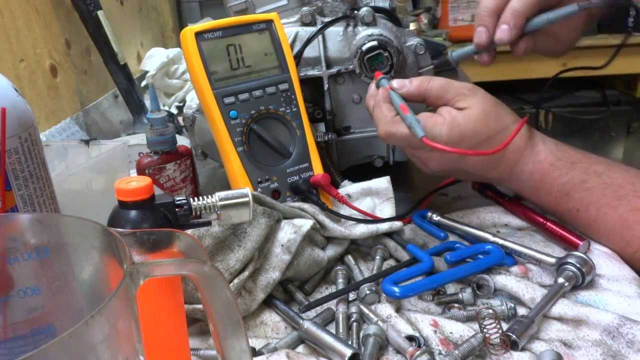 Watch on electrical coil testing