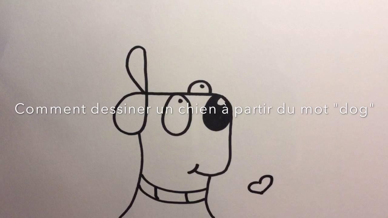 Comment dessiner un chien facilement youtube - Comment dessiner un but de foot ...