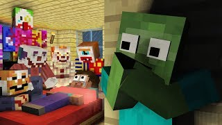 MONSTER SCHOOL : CLOWN APOCALYPSE CHALLENGE - MINECRAFT ANIMATION