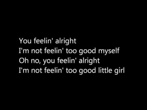 Feelin' Alright Joe Cocker Lyrics