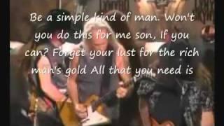 """Lynyrd Skynyrd """"Simple Man""""  W / Sub"""