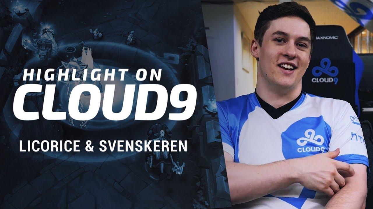 Highlight On Cloud9 Licorice And Svenskeren Vs Tsm Youtube