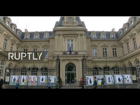 LIVE:  French 2017 presidential elections: voting in Paris