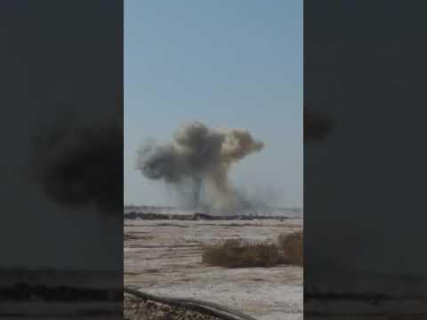 جانب من تفجير ات مخلفات داعش الإجرامي من قبل هندسه لواء الاول لواء محمد الجواد