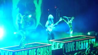 "Rob Zombie performing ""Teenage Lobotomy"" live @ the City National Civic in San Jose Sept 16, 2014"