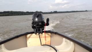Old Town Canoe + SeaKing 4hp