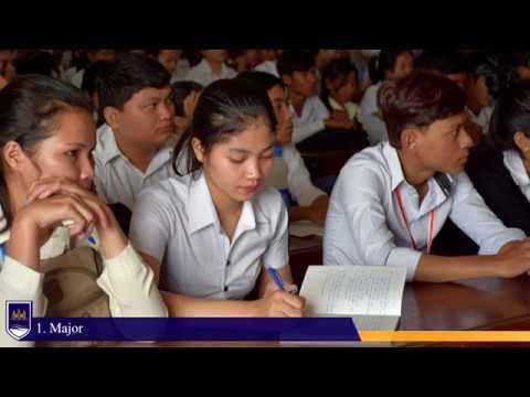Cambodian Mekong University : Activities Video