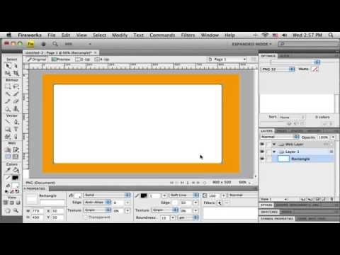 Tutorial: Web Layout in Adobe Fireworks CS4