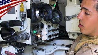 【日本語字幕】戦車の内部を公開&クルーのインタビュー - M1エイブラムス