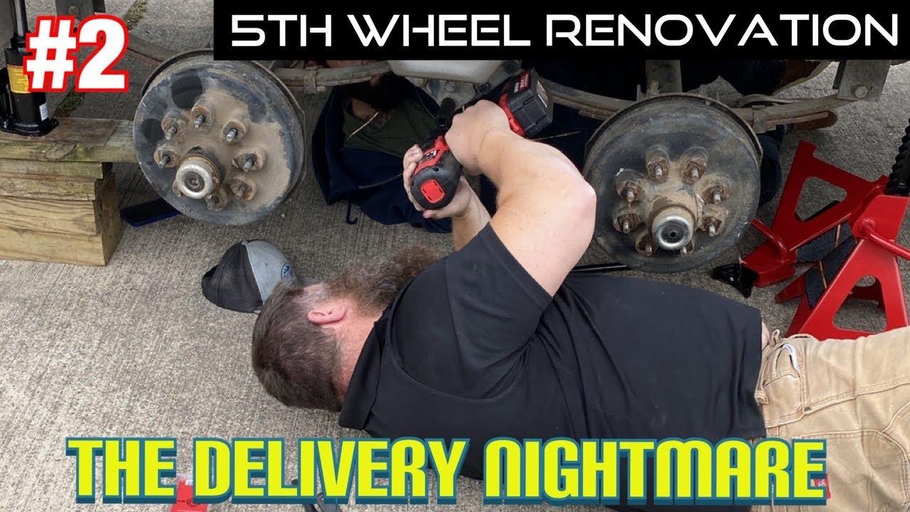 5th Wheel Renovation - Part 2