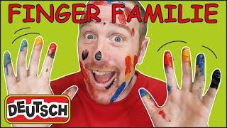 Tiere Finger Familie von Steve and Maggie Deutsch | Magisch Deutsch Sprechen Lernen
