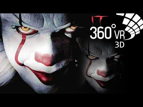 Жуткий трейлер к фильму   Оно 3D 360° 4K VR видео для очков виртуальной реальности 360 TB