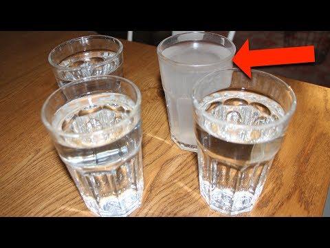 毎朝コップ4杯の水を飲んでみただけ。すごい変化が起きた。