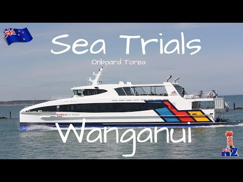 The Movie - Sea Trials -  Fullers Ferry new construction by