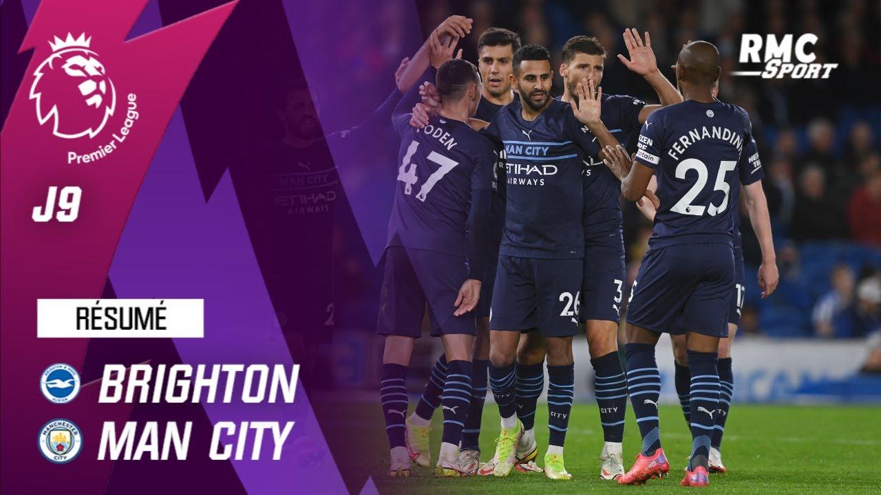 Download Résumé : Brighton 1-4 Manchester City - Premier League (J9)