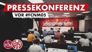 Pressekonferenz vor Nürnberg | #FCNM05 | 05er.tv