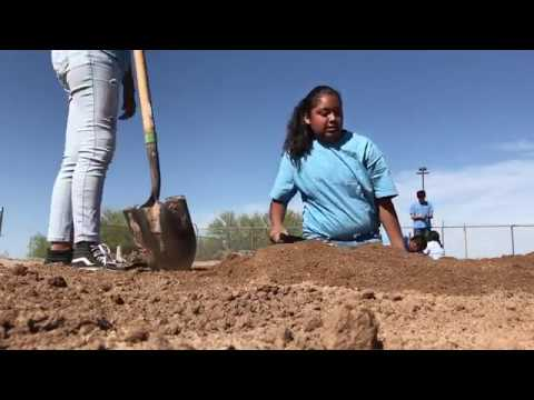 Dave 'The Garden Guy' visit Sacaton Middle School's Orchard Project - By: Reporter Amanda Mason
