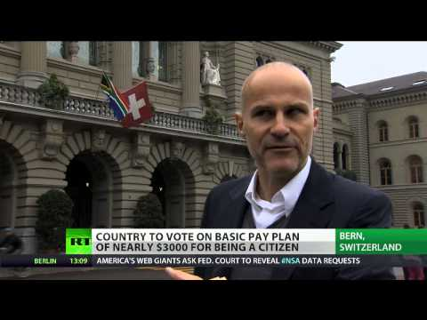 Cash Bern: Swiss may grant unconditional income for all