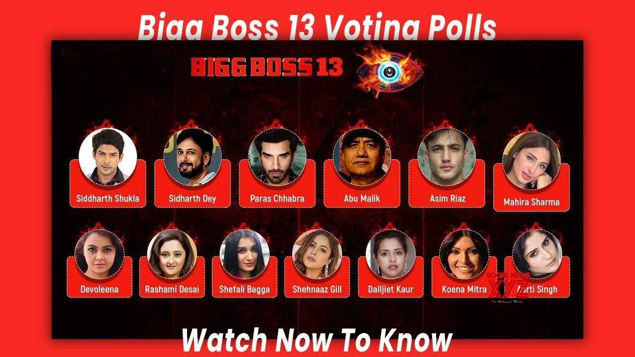 Live Bigg Boss Vote Bigg Boss 13 Online Voting Poll