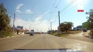 Видео аварии от участника ДТП