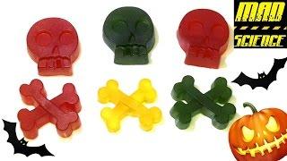 Как Сделать Конфеты для ХЭЛЛОУИНА !  В стиле MAD SCIENCE ! |  How to make candy for Halloween