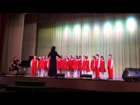 Детская музыкальная школа #6 города Уфы. Младший хор.