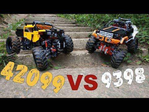 Lego technic 42099 VS 9398/ Лего техник 42099 против 9398 (42099 обзор часть 2)