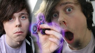 DO NOT SPIN A FIDGET SPINNER AT 3AM!!! (OMG SCARY!)