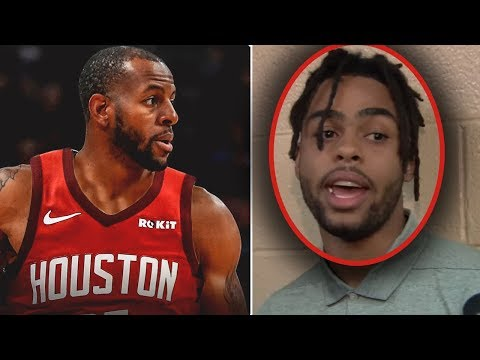 Andre Iguodala TO THE ROCKETS! D'angelo Russell BIG TRADE NEWS! Stupidest Thing I EVER HEARD!