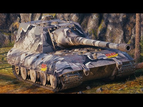 World of Tanks Jagdpanzer E100 - 7 Kills 12,2K Damage