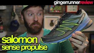 SALOMON SENSE PROPULSE REVIEW   The Ginger Runner