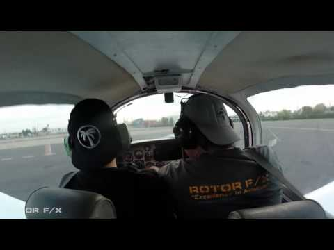 Charlotte Perfecto Discovery Airplane flight lesson at ROTOR F/X on April 16th, 2017