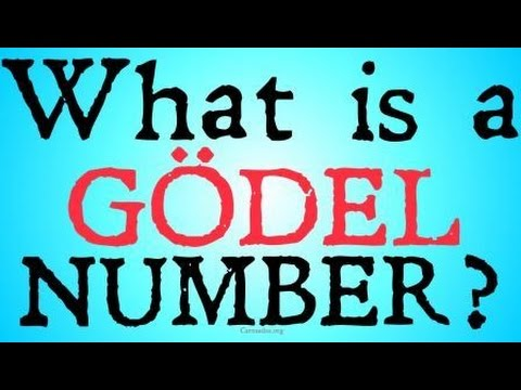 What is a Gödel Number? (Arithmatization)